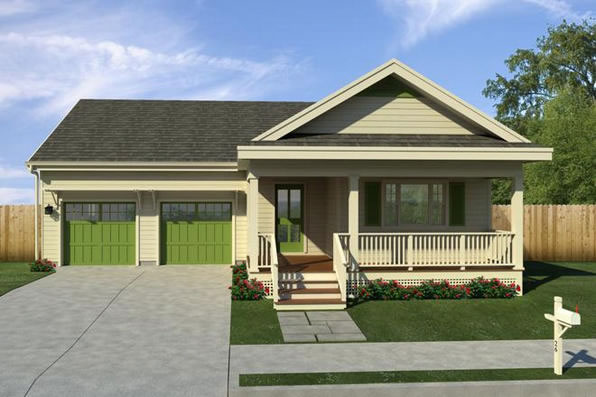 Caribbean house plans affordable 3 bedrooms 2 baths for Caribbean house plans