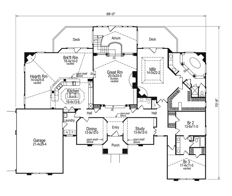 House plans with hidden rooms home design and interior for Floor plans hidden rooms